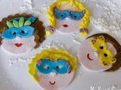 bambini maschera cake topper tutorial