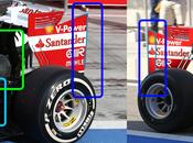 Test Bahrein: modifiche posteriore della Ferrari