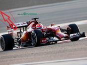 Test Bahrein: Ferrari monkey seat posteriore