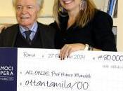 Crociere dona 80.000 euro all'Associazione Italiana contro Leucemie