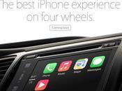 """Apple annuncia """"Carplay"""", nuova funzione l'utilizzo auto"""