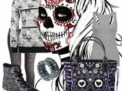 Mexican Skull look firmato