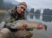 Trote grandi auguri! pescata Natale laghetto