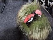 Bugs ciondoli pelliccia firmati Fendi