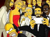 selfie degli Oscar versione Simpson LEGO