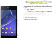 Sony Xperia prenotabile Amazon euro