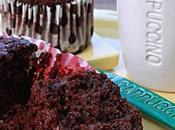 Muffins Cioccolato Quark Gelatine alla Ciliegia