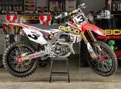Honda CRF-R Team Geico Supercross 2014