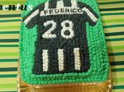 Torta maglia juventina