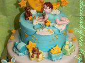 tenera torta Battesimo
