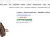 Kingston MicroDuo disponibile Amazon