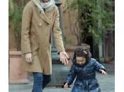Luisa Ranieri gioca palla piccola Emma