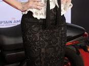 Giorgio Armani veste Scarlett Johannson première 'Captain America: Winter Soldier' Angeles