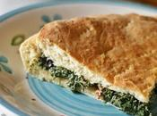 Focaccia rosoline with field poppy leaves
