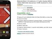 Motorola Moto 340€ Amazon.it