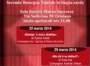 Oristano, teatro Limba, Teatro Beranu, programma