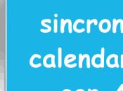 Come sincronizzare calendario iCloud Android