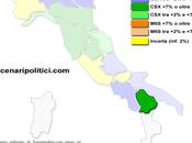 Sondaggio BASILICATA marzo 2014 (SCENARIPOLITICI) 39,5%, 30,8%, 24,5%. (32%) primo partito, Forza Italia sotto