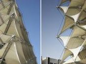 King Fahad National Library: membrane tessuto rivestimento facciata