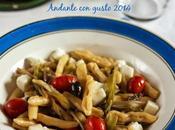 Capunti mediterranei: ancora pasta, fresca.