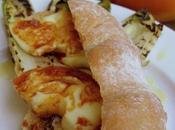 Baguette Panito senza glutine lattosio farcita Indivia belga donuts scamorza affumicata alla Sapa