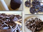 Tagliatelle cacao salsa mascarpone