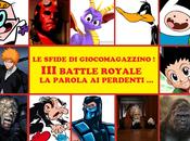 Sfide GiocoMagazzino! Terza Royale Battle: Parola Perdenti!