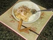 """""""Budino"""" riso alla vaniglia cannella"""
