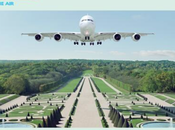 AirFrance atterrare dell'aria Versailles