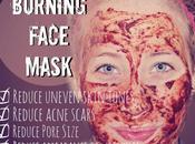 Ridurre macchie, rughe cicatrici dell'acne maschera BRUCIANTE alla cannella