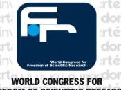 Invito Terzo incontro Congresso Mondiale Libertà Ricerca Scientifica