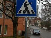 Attenzione, attraversamento Silly Walks
