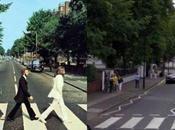 copertine dischi famosi visti Google Street View