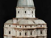 """modello ligneo della Consolazione Todi Urbania mostra """"Disegni Donato Bramante"""""""