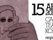 """APRILE 2014 H.H. confessione vedovo razza bianca Lolita Nabokov, regia ALDO AUGIERI nuovo spettacolo anteprima collana """"Titania"""" (Edizioni MILELLA) dedicata alla scrittura scenica LECCE CANTIERI TEATRALI KOREJA"""