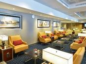 viaggio lusso Emirates Airlines. All'aeroporto Leonardo Vinci Lounge dedicata.