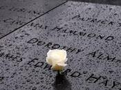 York 9/11 Memorial: rosa Manhattan