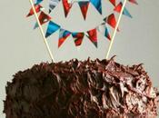 Devil's food cake bandierine Spiderman