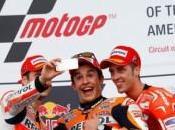 Motogp, Marquez detta legge Austin, bene Dovizioso, indietro Rossi