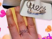 """Nuova creazione: anello """"Guess"""" argento"""