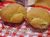 Panini segale carvi latte soia milk caraway rolls
