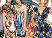 Moda estate 2014: colori neon stampa tropicale