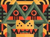 Pazzeschi patterns sapore bauhaus negli artworks newman