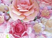 Fiori carta style tutorial modelli Paper flowers Style templates