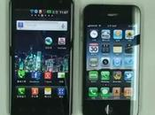 Confronto iPhone confronto Optimus Dual: registrazione video Dual