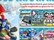titolo regalo chiunque registrerà copia Mario Kart Notizia