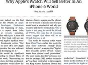 Articolo: Apple's iWatch Will Sell Better iPhone World