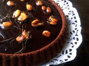 Torta cioccolato caramello mandorle caramellate