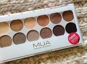 MUA, Undressed Palette [Review&Swatches]