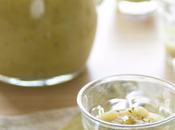 Mini tumbler vellutata foglie cavolfiore alla senape